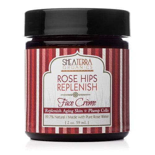 rose hips rose-plenishing facial creme - eZENtial - 1