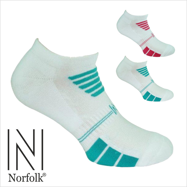 2PK Ladies Multi Sport Basic Cotton Low Cut Sock Style: LUCY