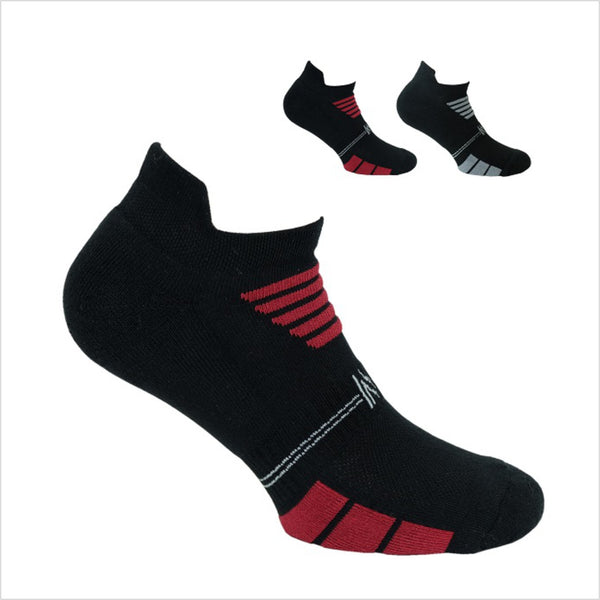2PK Multi Sport Basic Cotton Low Cut Sock Style: LUKE