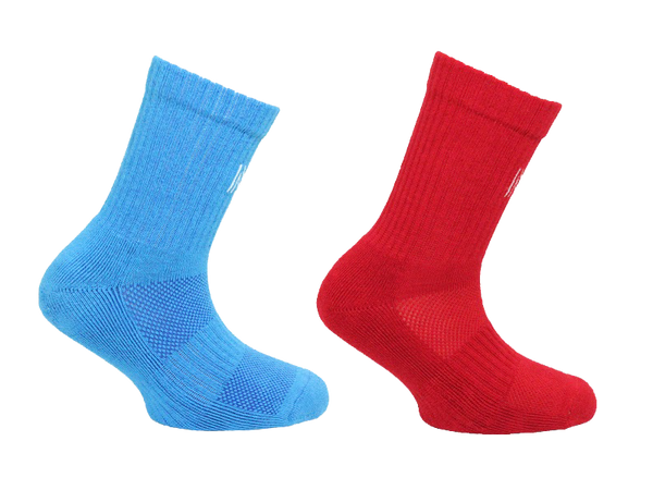 Cotton Cushion Crew Kids Sock 2 Pair Pack Style: ALVIN