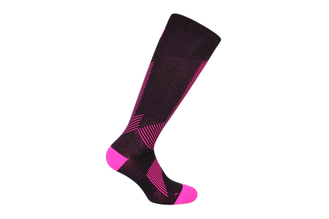 Sport Compression Microfiber Long Calf  Ladies Sock Style: IREM
