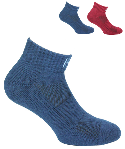 Sport Cotton Cushioned  Quarter Men's Sock 2  Pair Pack Style: FRED