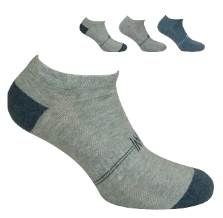 Sport Cotton Low Cut Men's Sock 3 Pair Pack Style: MICKEY
