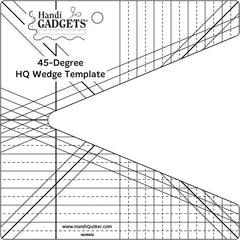 HandiQuilter Ruler of the Month 2 Wedge 45 Degree