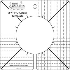 "HandiQuilter Ruler of the Month 2 - 2 1/2"" Circle"