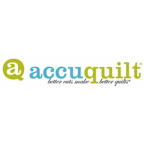 AccuQuilt Go! Cutters available at The Quilt Store