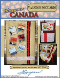 Discover Canada Vacation Postcards