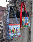 Row by Row - Home Sweet Home Tote Bag