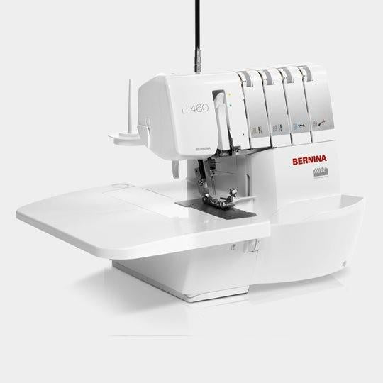 Bernina L 460 with side extension table available in Canada at The Quilt Store