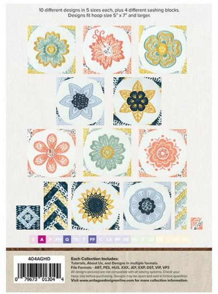 Anita Goodesign Spring Fling available in Canada at The Quilt Store