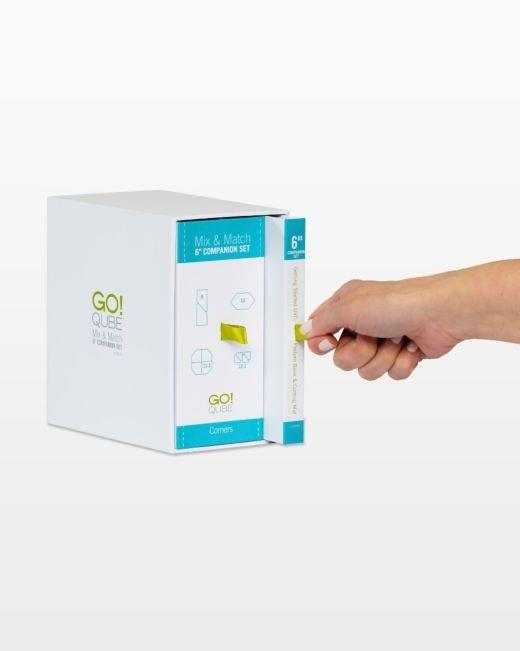 Accuquilt GO! Qube Companion Corners Set available in Canada at The Quilt Store