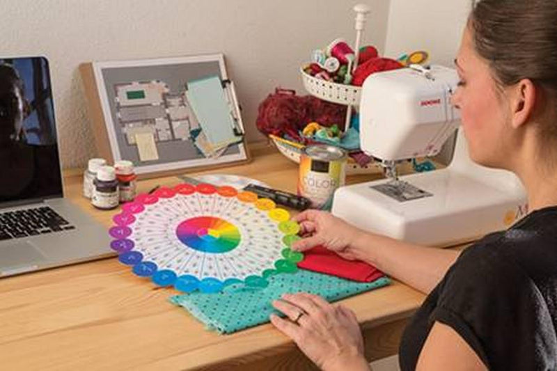 Essential Colour Wheel Companion available in Canada at The Quilt Store