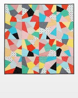 "GO! Big Crazy Quilt 10"" Finished available in Canada at The Quilt Store"