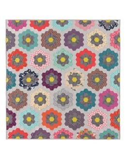 GO! Urban Flower Garden Quilt pattern Free pattern from The Quilt Store