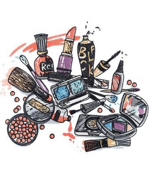 Calling all makeup enthusiasts--this is the collection for you! Our Cosmetic Creations collection showcases all of the beauty products we enjoy using on a daily basis including, nail polish, lip stick, eye shadow and more! We have provided 20 different co