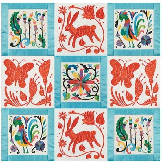 Otomi Quilt by Anita Goodesign available in Canada at The Quilt Store
