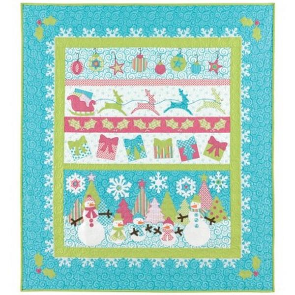 GO! Sleigh & Snowflakes die available in Canada at The Quilt Store