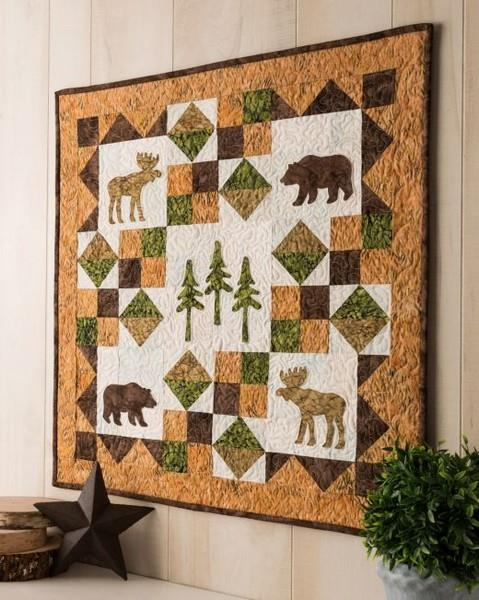 Accuquilt GO! Northwoods Medley Quilt Pattern at The Quilt Store
