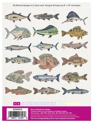 ANITA GOODESIGN Catch of the Day Full Collection at The Quilt Store