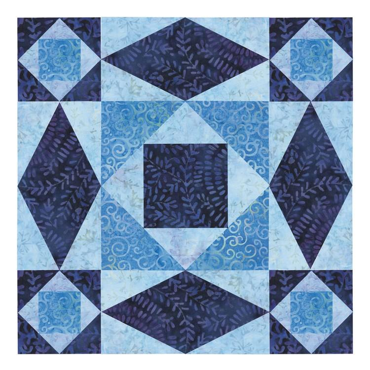 Accuquilt Storm at Sea Block on Board available in Canada at The Quilt Store