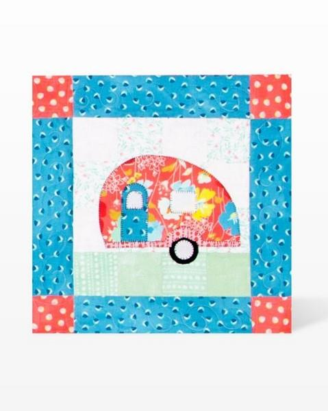 GO! Camper Die available in Canada at The Quilt Store
