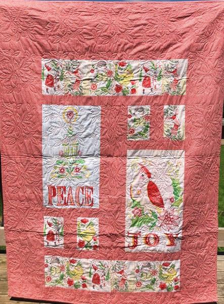I Love Christmas Quilt available at The Quilt Store in Canada