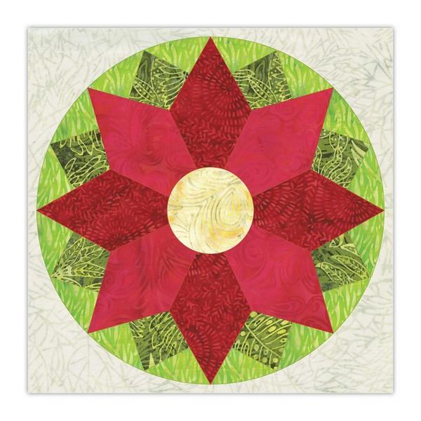"Accuquilt Courtyard 10"" Finished Die available in Canada at The Quilt Store"