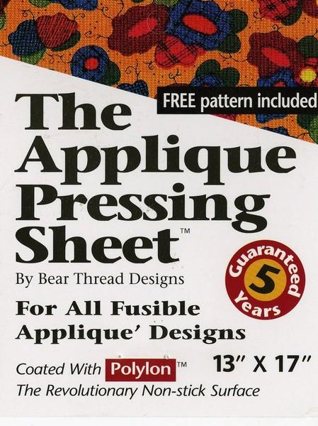 The Applique Pressing Sheet by Bear Thread Design