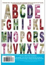 Anita Goodesign Crazy Quilt Letters