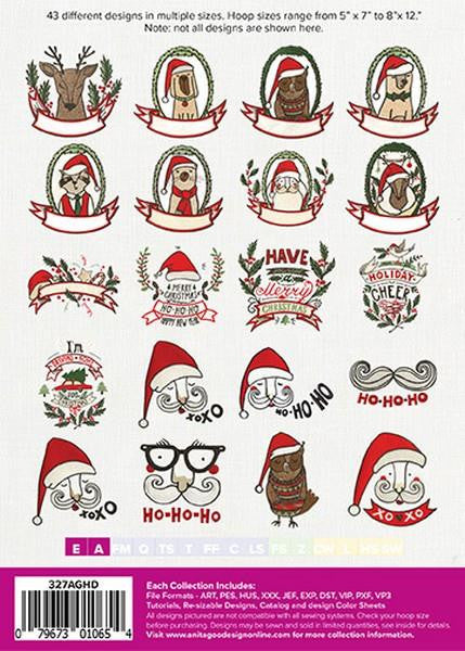 Anita Goodesign Christmas Critters