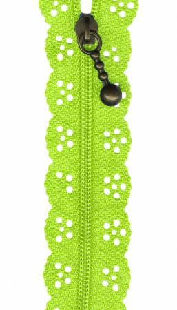 Lime Lacie Zippers by Border Creek Station available at The Quilt Store