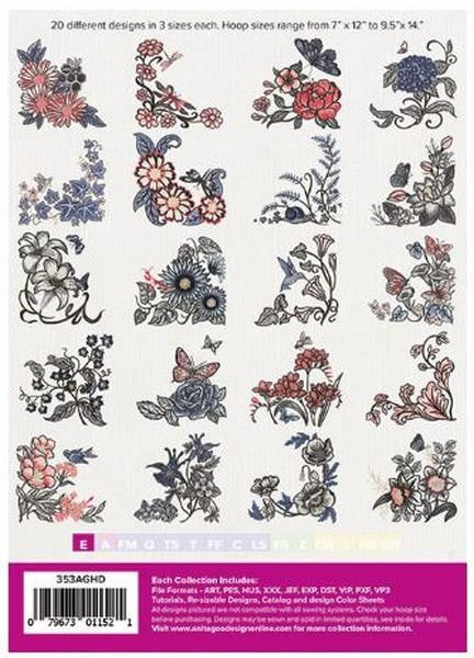 Floral Corners by Anita Goodesign at The Quilt Store