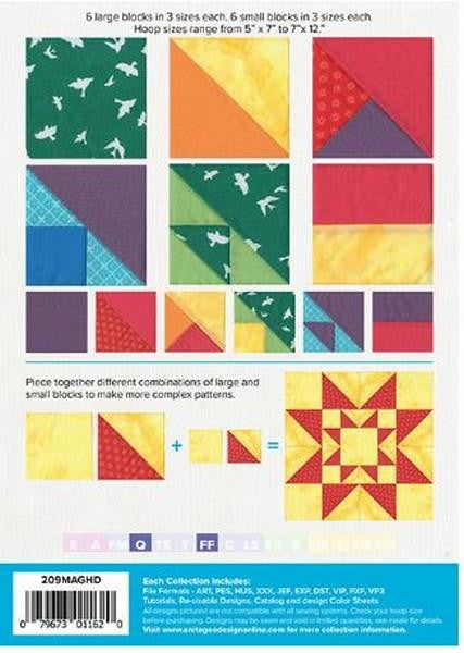 Traditionally Unique Quilt Blocks by Anita Goodesign