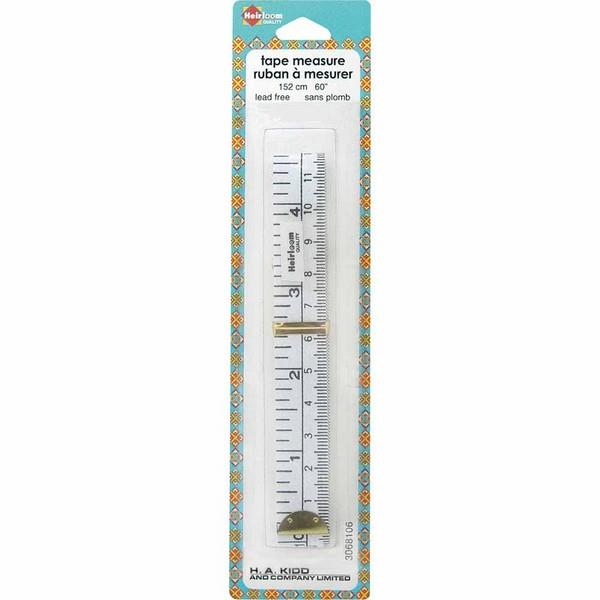 "Heirloom Tape Measure 152 cm (60"") available at The Quilt Store in Canada"