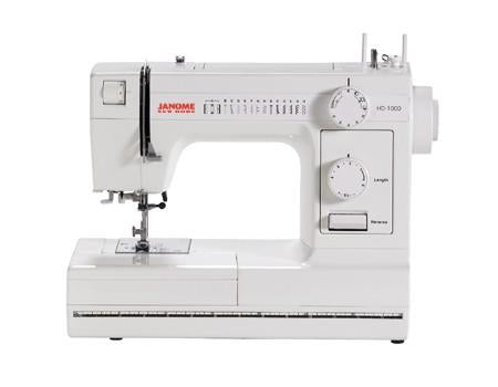 Janome HD-1000 available in Canada at The Quilt Store