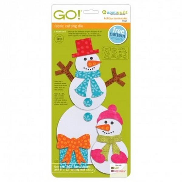 GO! Holiday Accessories available in Canada at The Quilt Store