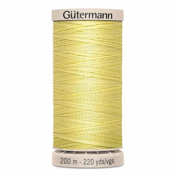 Gutermann Hand Quilting Thread Canary available at The Quilt Store in Canada