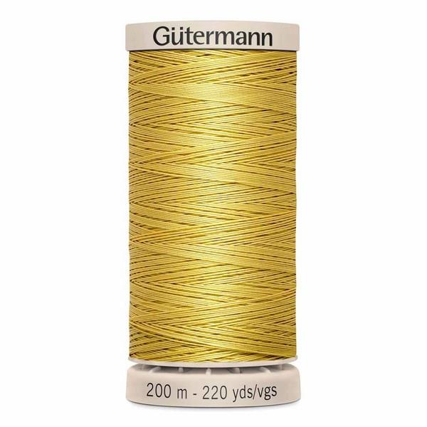 Gutermann Hand Quilting Thread Yellow available in Canada at The Quilt Store