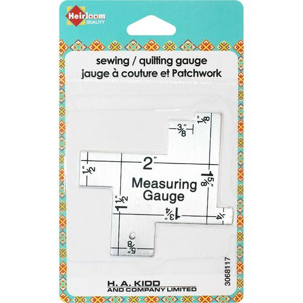Heirloom Sewing Gauge available at The Quilt Store