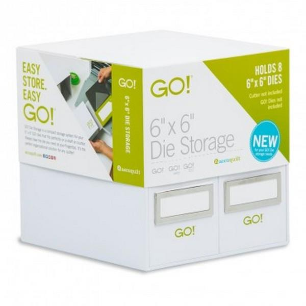 GO! Die Storage available in Canada at The Quilt Store