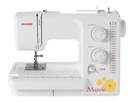 Janome Magnolia 7318 available in Canada at The Quilt Store