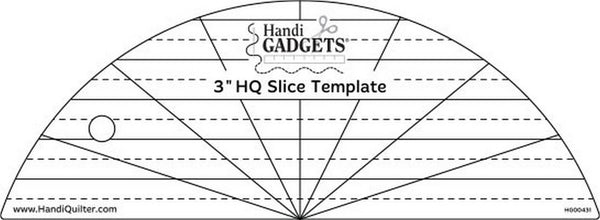 "HandiQuilter 3"" Slice Ruler available in Canada at The Quilt Store"