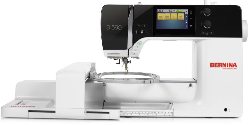 Bernina B 590 E available in Canada at The Quilt Store