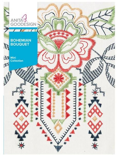 Anita Goodesign Bohemian Bouquet available in Canada at The Quilt Store