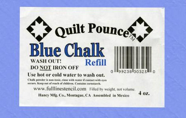 Quilt Pounce Blue Chalk Refil available in Canada at The Quilt Store