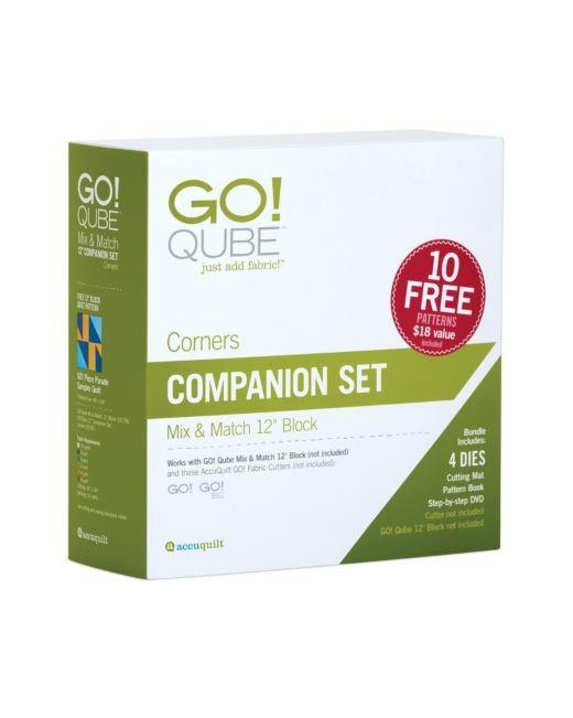 "Accuquilt GO! Qube 12"" Companion Corners Set available in Canada at The Quilt Store"
