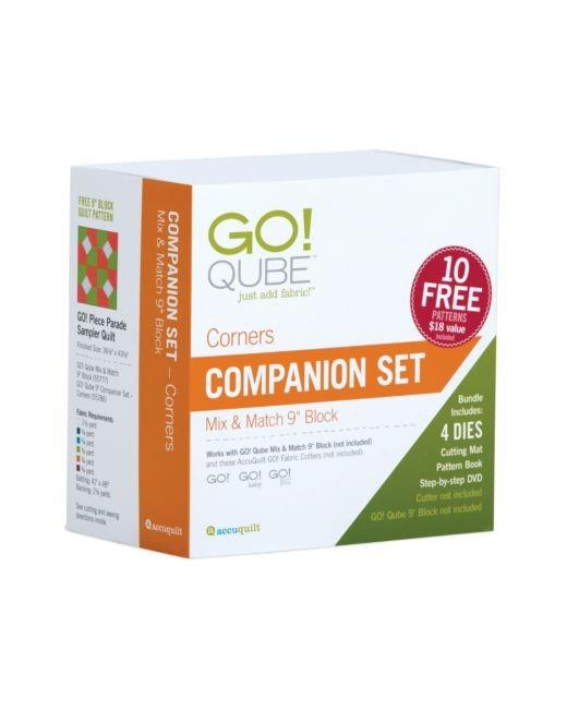 "Accuquilt GO! Qube 9"" Companion Corners Set"