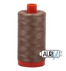 Aurifil 2370 Sandstone 50 wt available in Canada at The Quilt Store