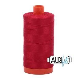 Aurifil 2250 Red 50 wt available in Canada at The Quilt Store