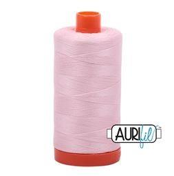 Aurifil 2410 Pale Pink 50 wt available in Canada at The Quilt Store